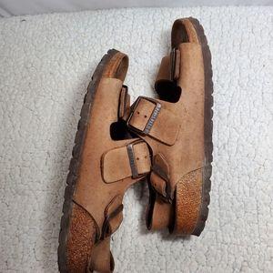 Birkenstock Shoes - Birkenstock Milano Leather Sandals